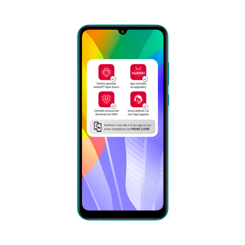 Huawei Y6P 3GB/64GB Emerald Green Mobilais Telefons