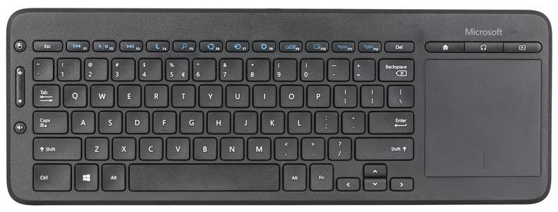 Microsoft N9Z-00022 Multimedia, Wireless, EN, Graphite, Yes, UK English, No, 434 g klaviatūra