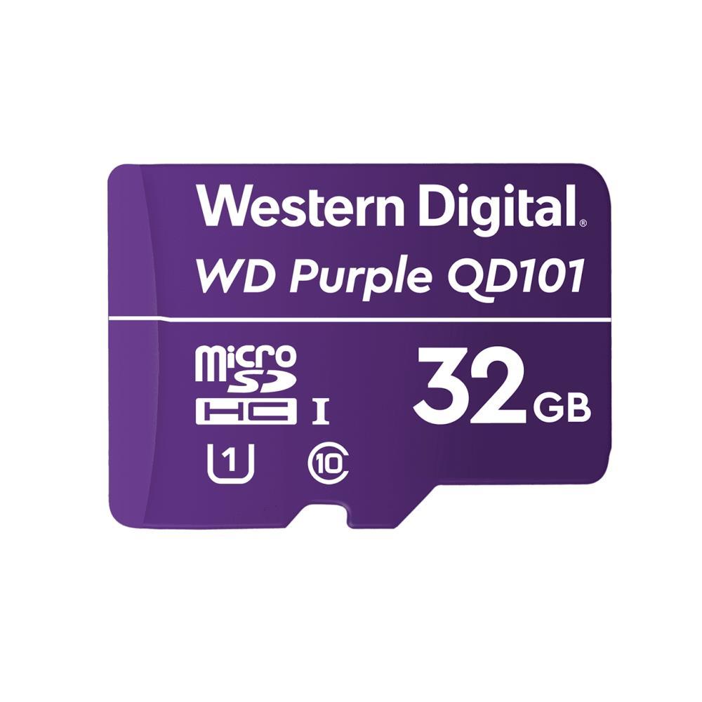 Western Digital WD Purple SC QD101 memory card 32 GB MicroSDHC Class 10 atmiņas karte