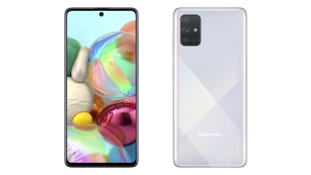 MOBILE PHONE GALAXY A51 128GB/SILVER SM-A515FMSV SAMSUNG SM-A515FMSV Mobilais Telefons