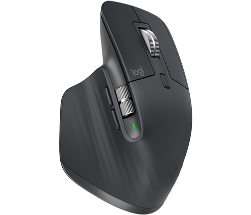 Logitech MX Master 3 Advanced Wireless Mouse - GRAPHITE Datora pele