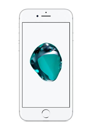 Apple Iphone 7 32GB Silver Refurbished Mobilais Telefons