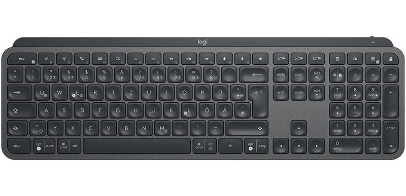 Logitech MX Keys Wireless Illuminated Keyboard ENG klaviatūra