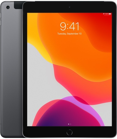 Apple iPad 10.2 Wi-Fi Cell 32GB Space Grey Planšetdators