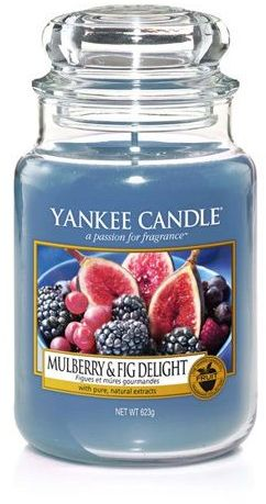 Yankee Candle Large Jar large scented candle Mulberry & Fig Delight 623g