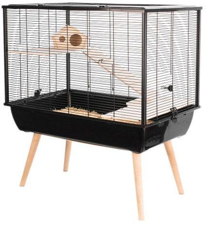 Zolux Cage Neo Silta black small rodents H58 grauzējiem