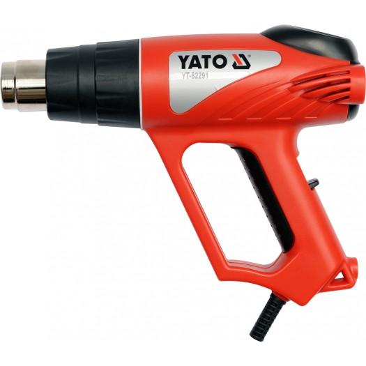 Yato Heat gun 2000W 70 ~ 550 ° C with accessories (YT-82291) celtniecības fēns