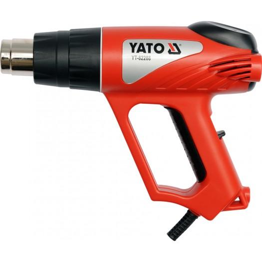 Yato Heat Gun 2000W 70 ~ 550 ° C (YT-82288) celtniecības fēns