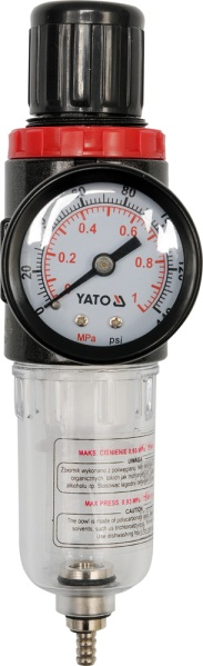 Yato Reducer with filter and 1/4