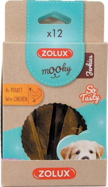 Zolux Przysmak MOOKY Puppy JERKIES z kurczakiem x 12 4960919