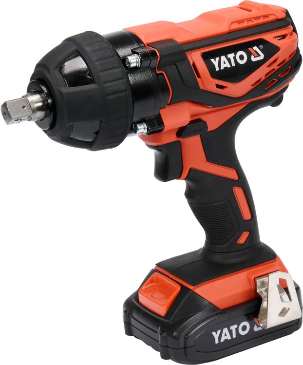Yato Cordless impact wrench 18V 1x2.0Ah Li-Ion 300Nm with caps (YT-82804)