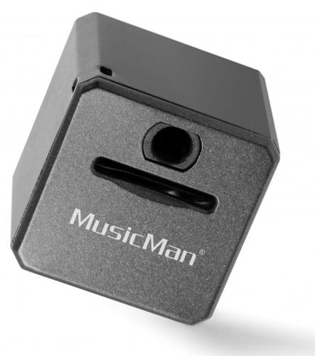 TECHNAXX MUSICMAN MINI STYLE MP3 PLAYER TX-52 BLACK                      IN 4554 MP3 atskaņotājs