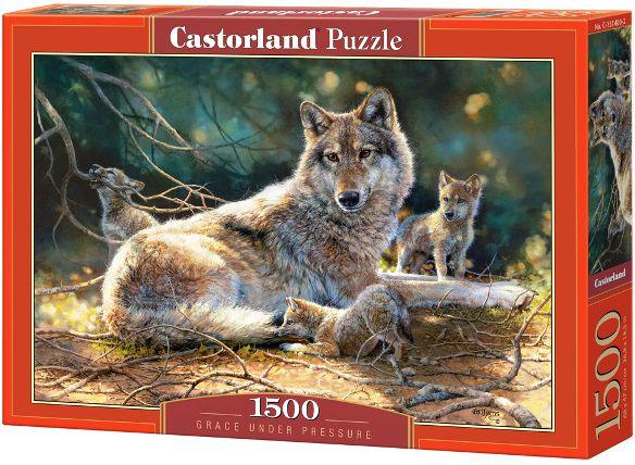 Castorland 1500 Grace under Pressure puzle, puzzle