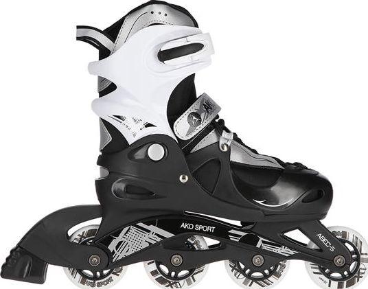 NILS Extreme Rollerblades AKO-RD03 Boy Black r. 34-37 Skrituļslidas