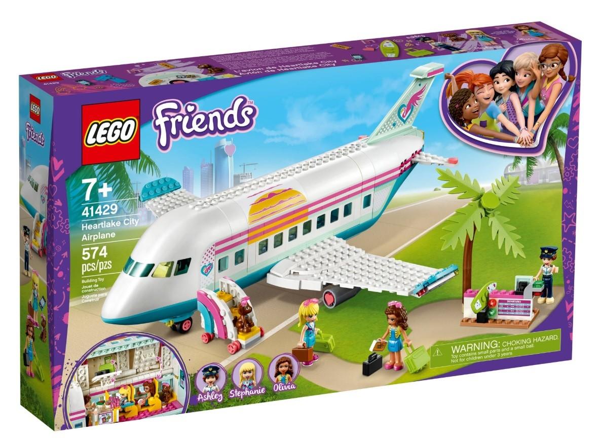 LEGO Friends 41429 Heartlake City Airplane LEGO konstruktors