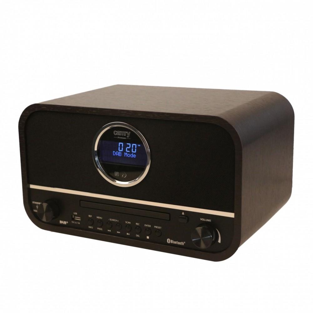 Camry CR1182 Radio retro  DAB+ USB BT radio, radiopulksteņi