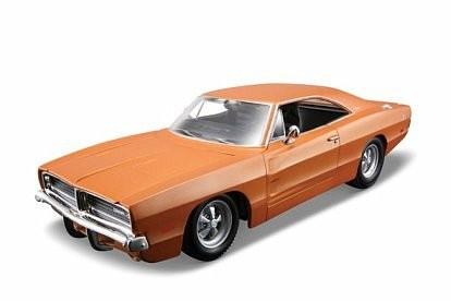 Maisto Dodge Charger 196 9 1/25 kit Rotaļu auto un modeļi