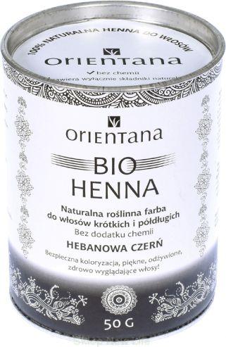 Orientana  Bio Henna HEBANOWA CZERN 50g ORI06928