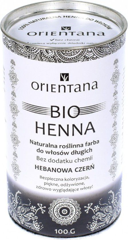 Orientana BIO Henna Hebanowa Czern 100g ORI06874