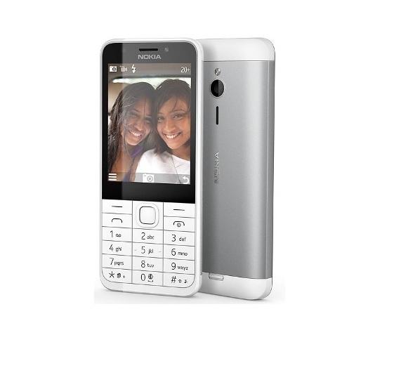 "Nokia 230 Silver, 2.8 "", TFT, 240 x 320 pixels, 16 MB, Dual SIM, Mini-SIM, Bluetooth, 3.0, USB version microUSB 1.1, Built-in camer Mobilais Telefons"