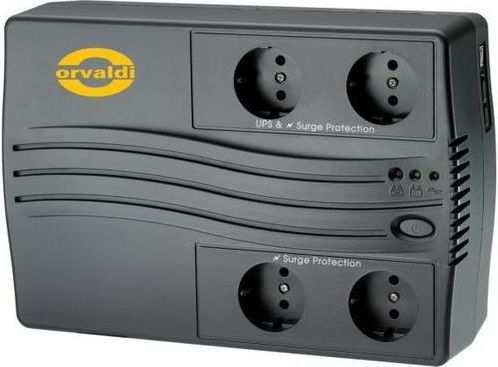 ORVALDI UPS 650VA LINE-INTERACTIVE nepārtrauktas barošanas avots UPS