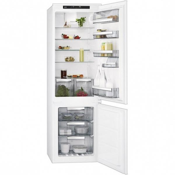 AEG iebūvējams ledusskapis sce81816ts Iebūvējamais ledusskapis