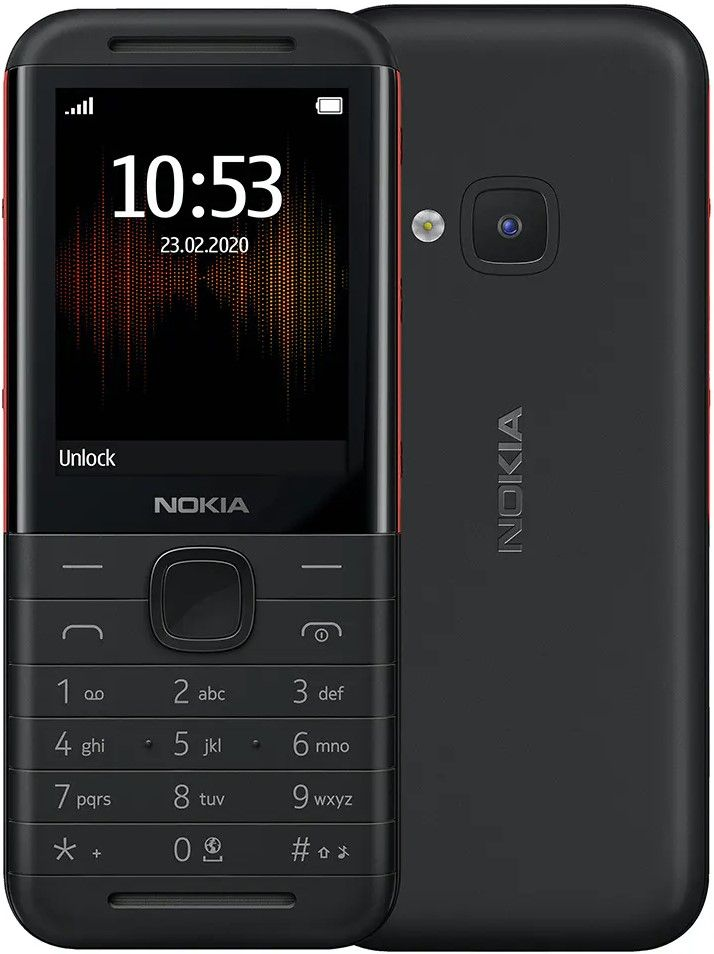 Nokia 5310 Dual SIM TA-1212 Black/Red Mobilais Telefons
