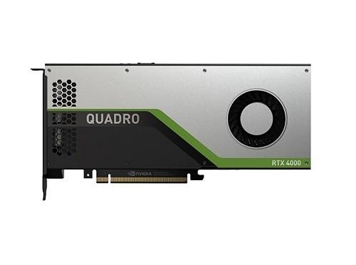 Dell NVIDIA Quadro RTX 4000 NVIDIA, 8 GB, Quadro RTX 4000, GDDR6, PCI Express x16 3.0 video karte