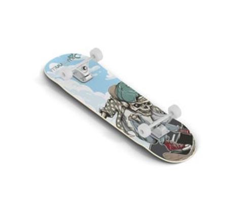 Muuwmi Skateboard skrituļdēlis, ABEC 5, Skull AU 540