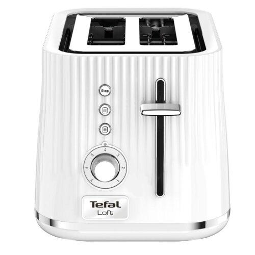 Tefal TT7611 Toaster digital Tefal, white Tosteris