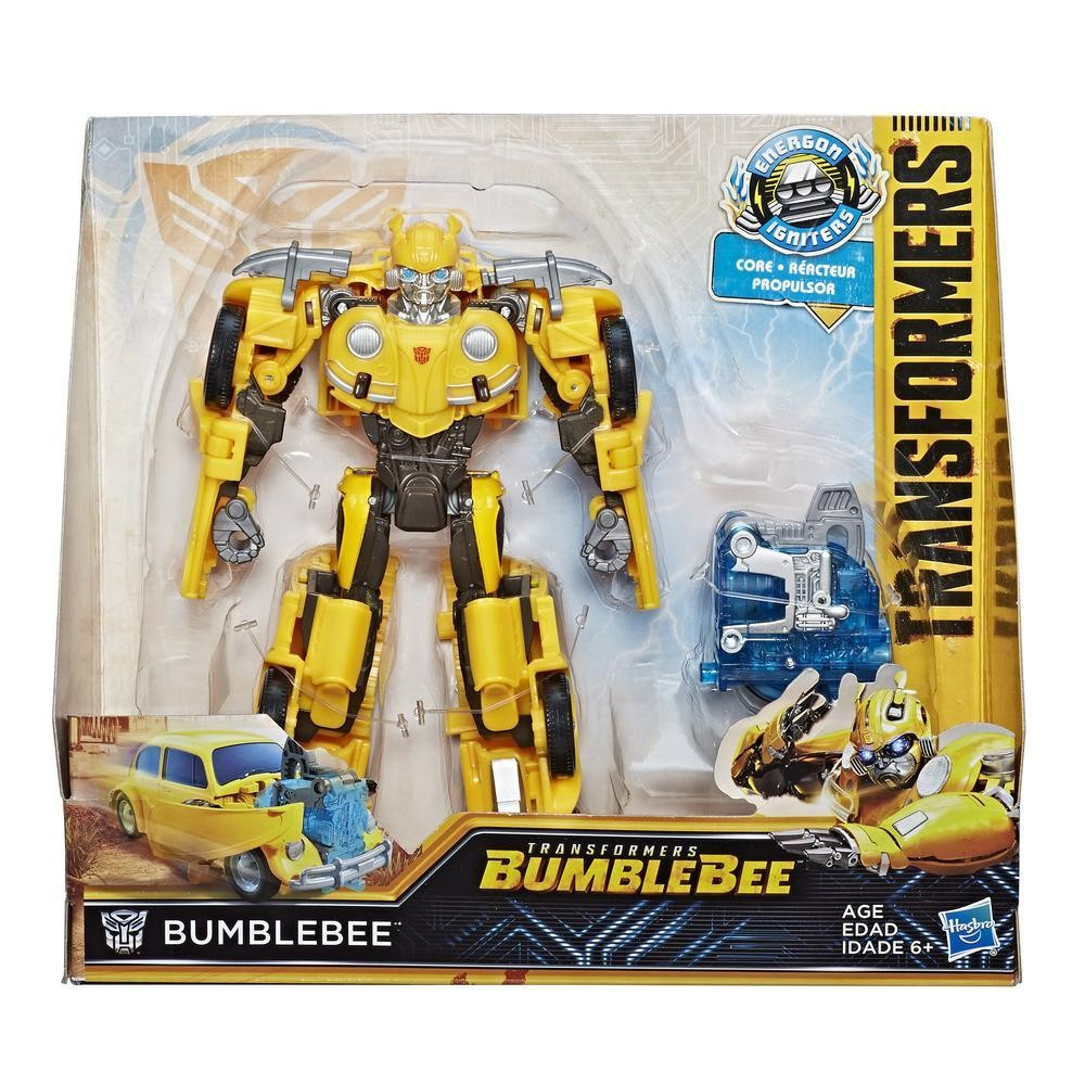 Hasbro Figure Transformers MV6 Energon Igniters Nitro - Bumblebee