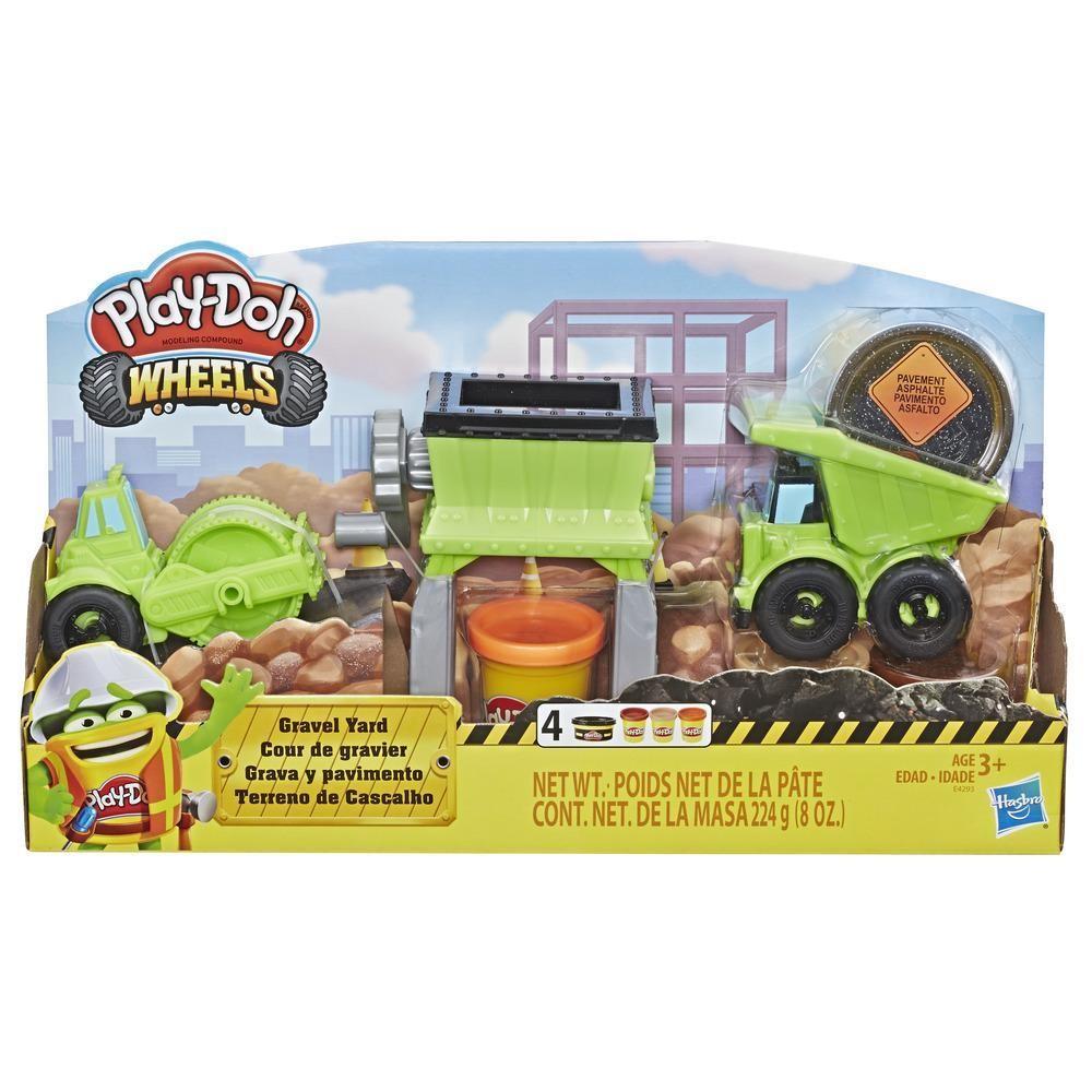Hasbro Plastic mass Play-Doh Wheels Gravel set E4293 Rotaļu auto un modeļi
