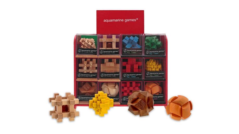 Juguetronica IMPOSSIBLE PUZZLE izglītojoša koka puzle MT1151 puzle, puzzle