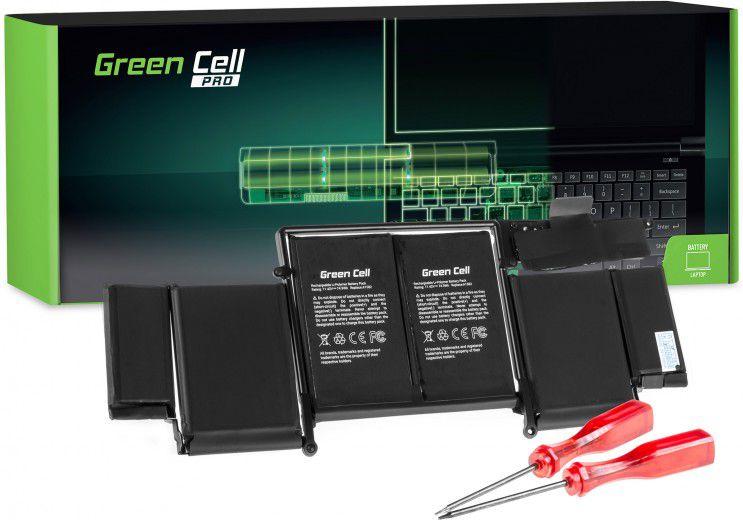 Green Cell PRO A1582 for Apple MacBook Pro 13 A1502 (Early 2015) akumulators, baterija portatīvajiem datoriem