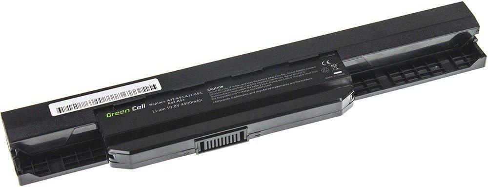 Green Cell Asus A43 A53 K43 K53 X43 A32-K53 A42-K53 11.1V 6 cell (AS04) akumulators, baterija portatīvajiem datoriem