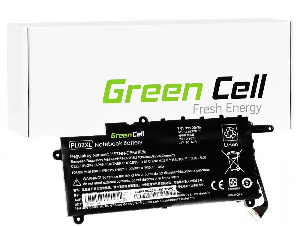 Bateria Green Cell   do HP PL02XL