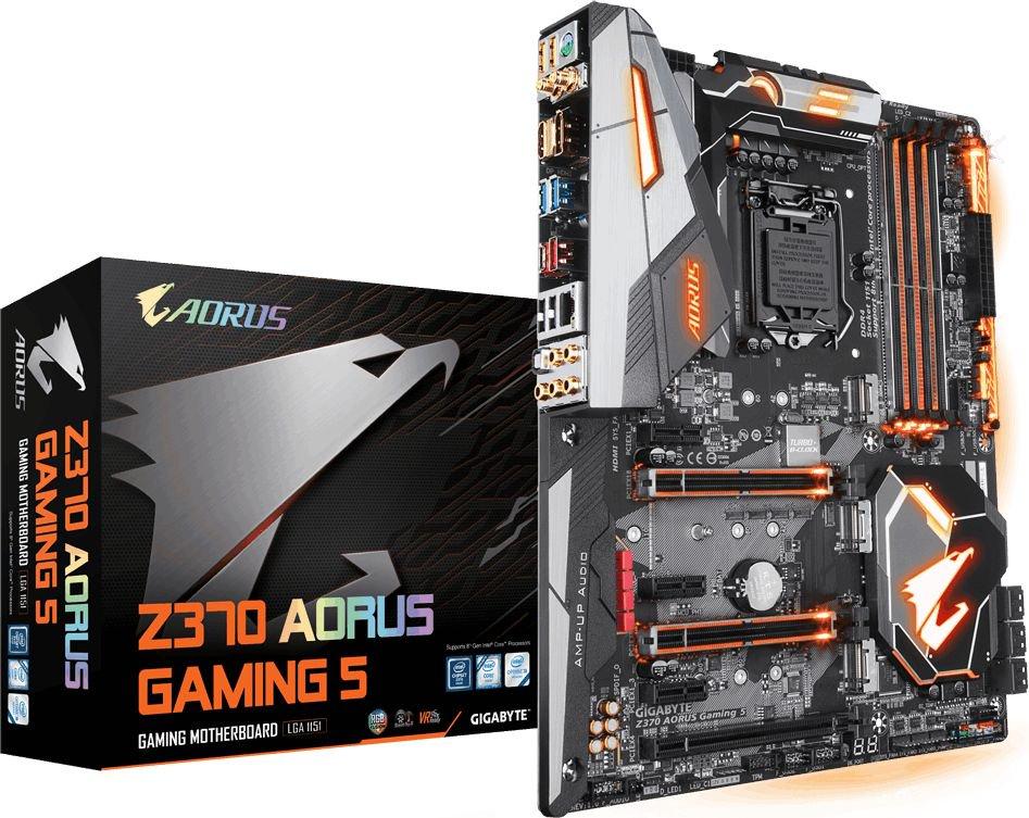 GIGABYTE Z370 AORUS Gaming 5 - 1151 pamatplate, mātesplate