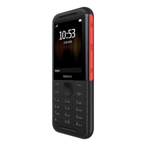 Nokia 5310 Dual Sim Black/Red Mobilais Telefons