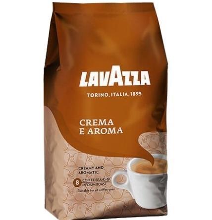 Lavazza Crema e Aroma 1 kg piederumi kafijas automātiem