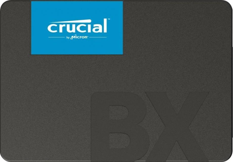Crucial SSD BX500 480GB, 3D NAND, SATA III 6 Gb/s, 2.5-inch SSD disks