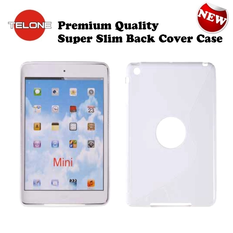 Telone Back Case S-Case gumijots telefona apvalks Apple iPad aksesuārs mobilajiem telefoniem