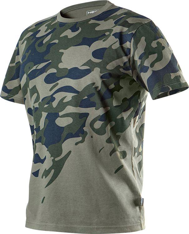 NEO T-shirt (CAMO print work T-shirt, size S)