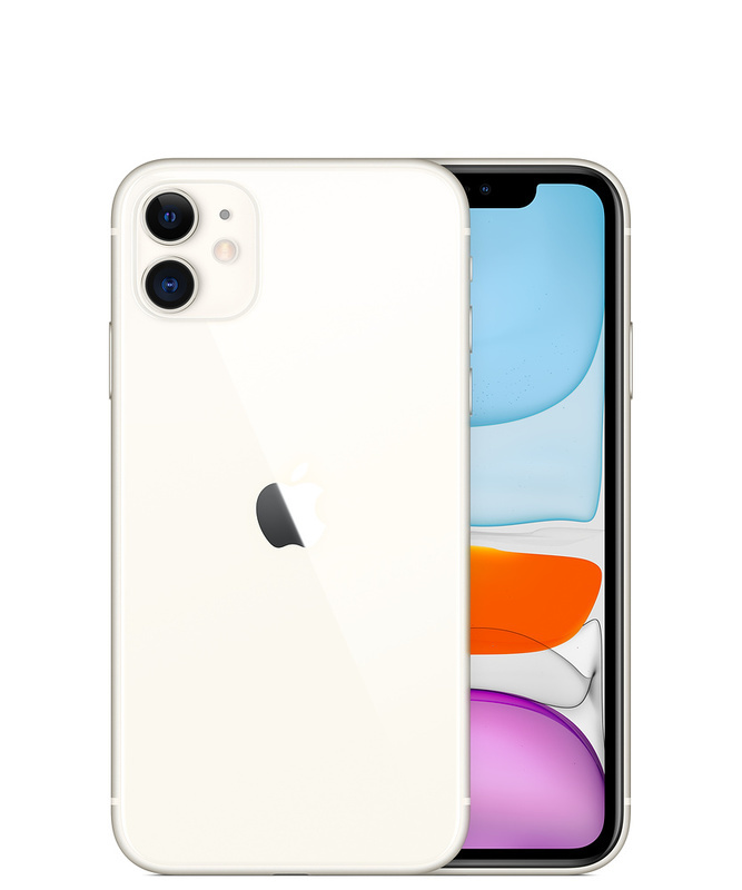Apple iPhone 11 128GB White Mobilais Telefons