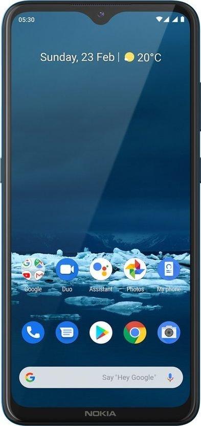Smartfon Nokia 5.3 64 GB Dual SIM Turkusowy  (TA-1234) TA-1234 Mobilais Telefons