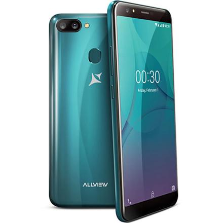 """Allview P10 Pro Dark Green, 5.99 """", IPS LCD, 720x1440 pixels, Mediatek MT6739, Internal RAM 3 GB, 32 GB, microSD, Dual SIM, Nano-SIM, 3G, 4G Mobilais Telefons"""