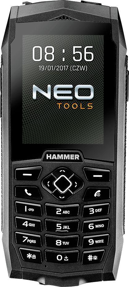 Telefon komorkowy NEO 84-002 do ciezkich warunkow Dual SIM 84-002 Mobilais Telefons
