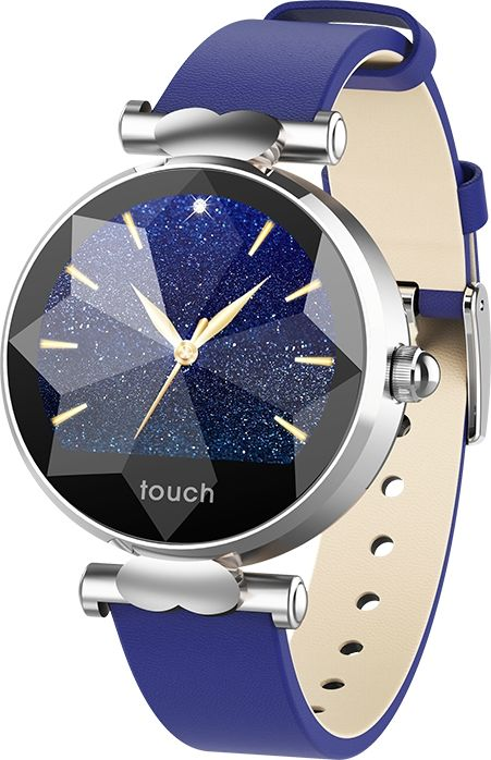 Smartwatch oromed Smart Lady Blue-silver Viedais pulkstenis, smartwatch