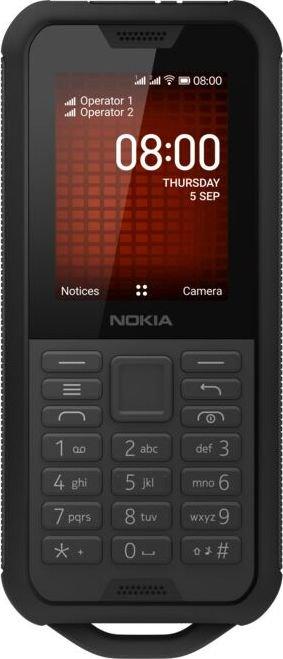 Nokia 800 Tough Dual-SIM black Mobilais Telefons