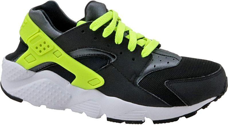 Nike Buty damskie Huarache Run Gs czarne r. 40 (654275-017) 654275-017