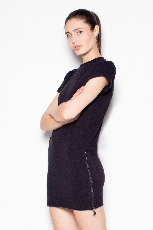 Venaton Sukienka VT070 Czarny r. S (VT070CZS) VT070CZS Kleitas sievietēm